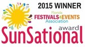2015 Winner Florida Festivals & Events Association SunSational Award