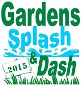 Gardens Splash and Dash 2015 logo