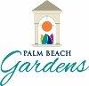 Palm Beach Gardens  logo with the flyover bridge artwork