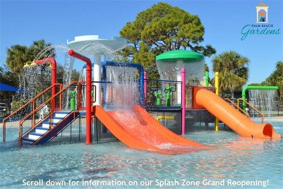 The new Splash Playground at Palm Beach Gardens Aquatic Complex