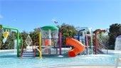 The newly renovated Splash Playground