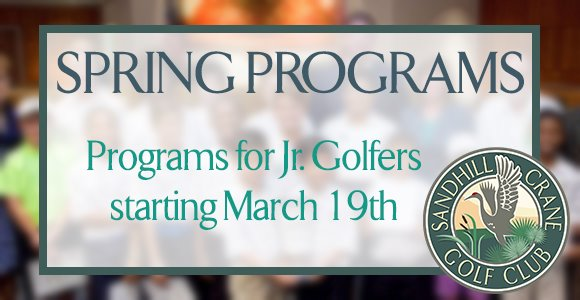 Spring Programs starting March 19!