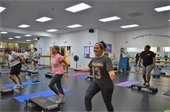 Women working out in the Boot Camp class