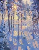 """Breckenridge Bliss"" oil painting by Manon Sander"