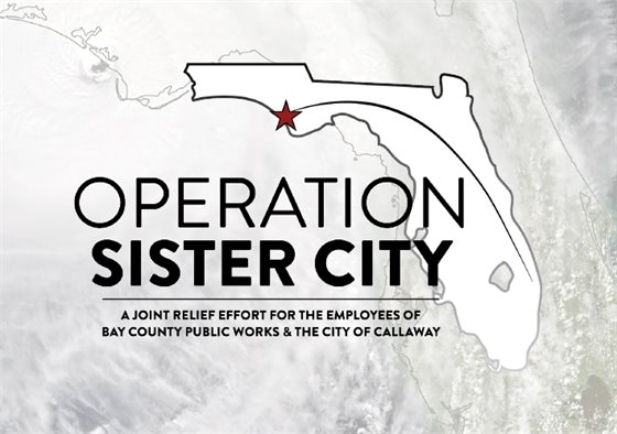 operation sister city: a joint relief effort for the employees of bay county public works and the city of callaway