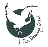The Dancing Crane logo