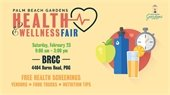 2019 Palm Beach Gardens Health & Wellness Fair February 23rd from 9 a.m. to 3 p.m.