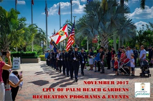 The Palm Beach Gardens Police and Fire Honor Guard