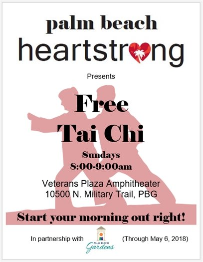 Free Tai Chi presented by Palm Beach Heartstrong