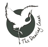 The Dancing Crane logo