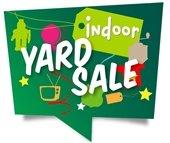 indoor yard sale graphic