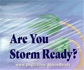 Storm Ready graphic link to hurricane readiness webpage