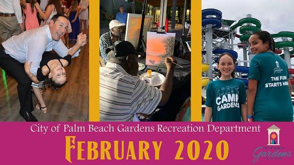 City of Palm Beach Gardens February 2020 E-Newsletter.