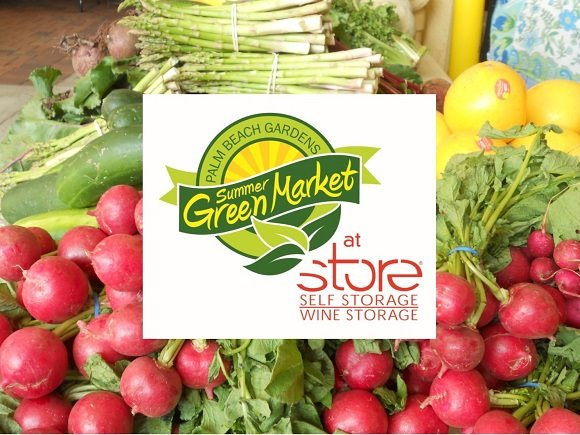 Palm Beach Gardens Summer GreenMarket at STORE Self Storage and Wine Storage