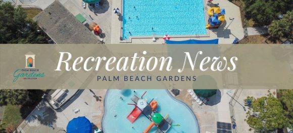 Palm Beach Gardens Recreation News. Photo of the PBG Aquatic Complex..