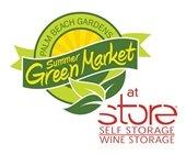 Palm Beach Gardens Summer GreenMarket at STORE Self Storage and Wine Storage.
