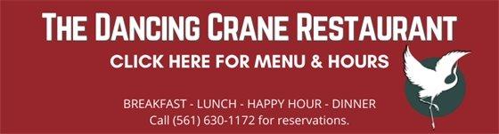 The Dancing Crane Restaurant Menu