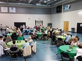 Canasta tournament and luncheon.