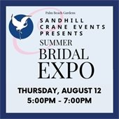 Summer bridal expo on Thursday, August 12, 2021 at 5:00 p.m.