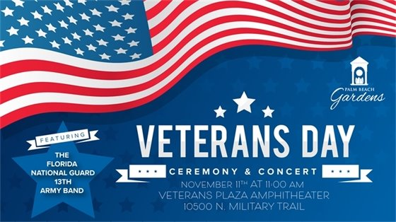 Veterans Day Ceremony and Concert