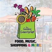 The Gardens GreenMarket. Food, music, shopping and more!