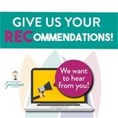 Give us your recommendations. Take our online questionnaire, we want to hear from you!