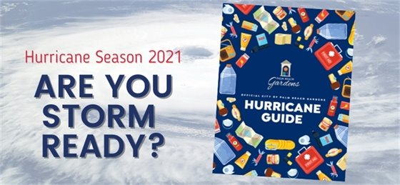 Hurricane Season 2021. Are you storm ready?