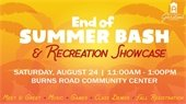 End of Summer Bash & Recreation Showcase