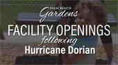 facility openings following hurricane dorian