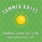 Golf Summer Rates