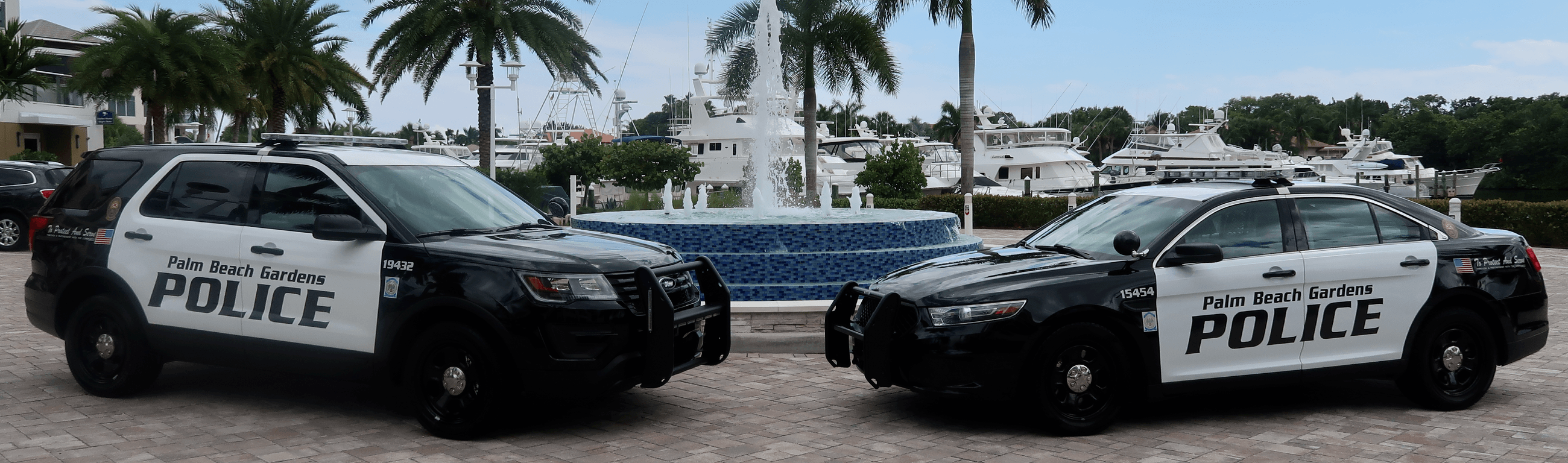Police vehicles- new and old
