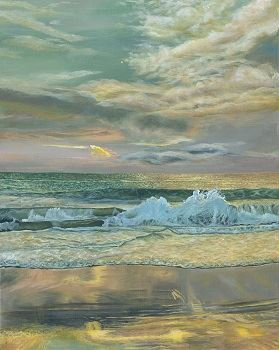 """Gold Coast"" painting by Carol Ann Salley"
