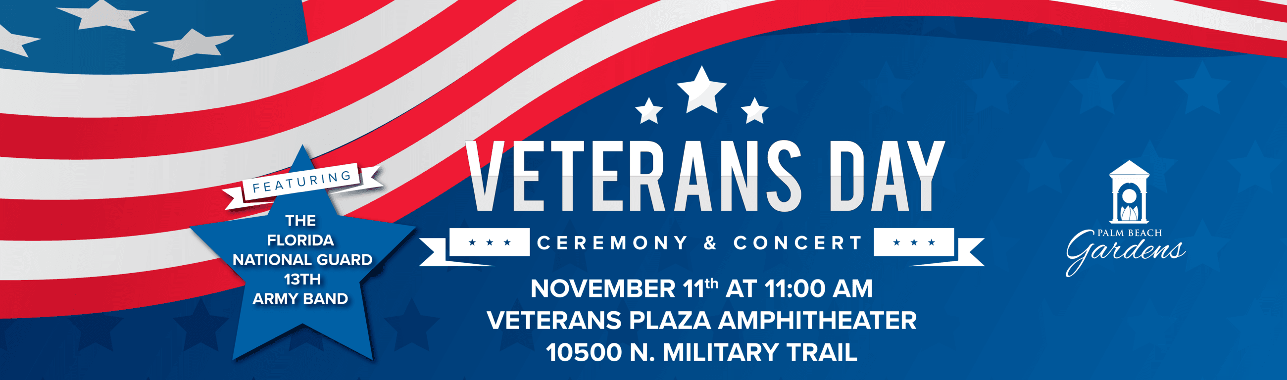 2019 Veterans Day Ceremony & Concert. 11/11 at 11 a.m.