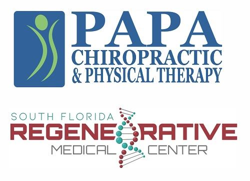 PAPA Chiropractic and Physical Therapy, South Florida Regenerative Medical Center.
