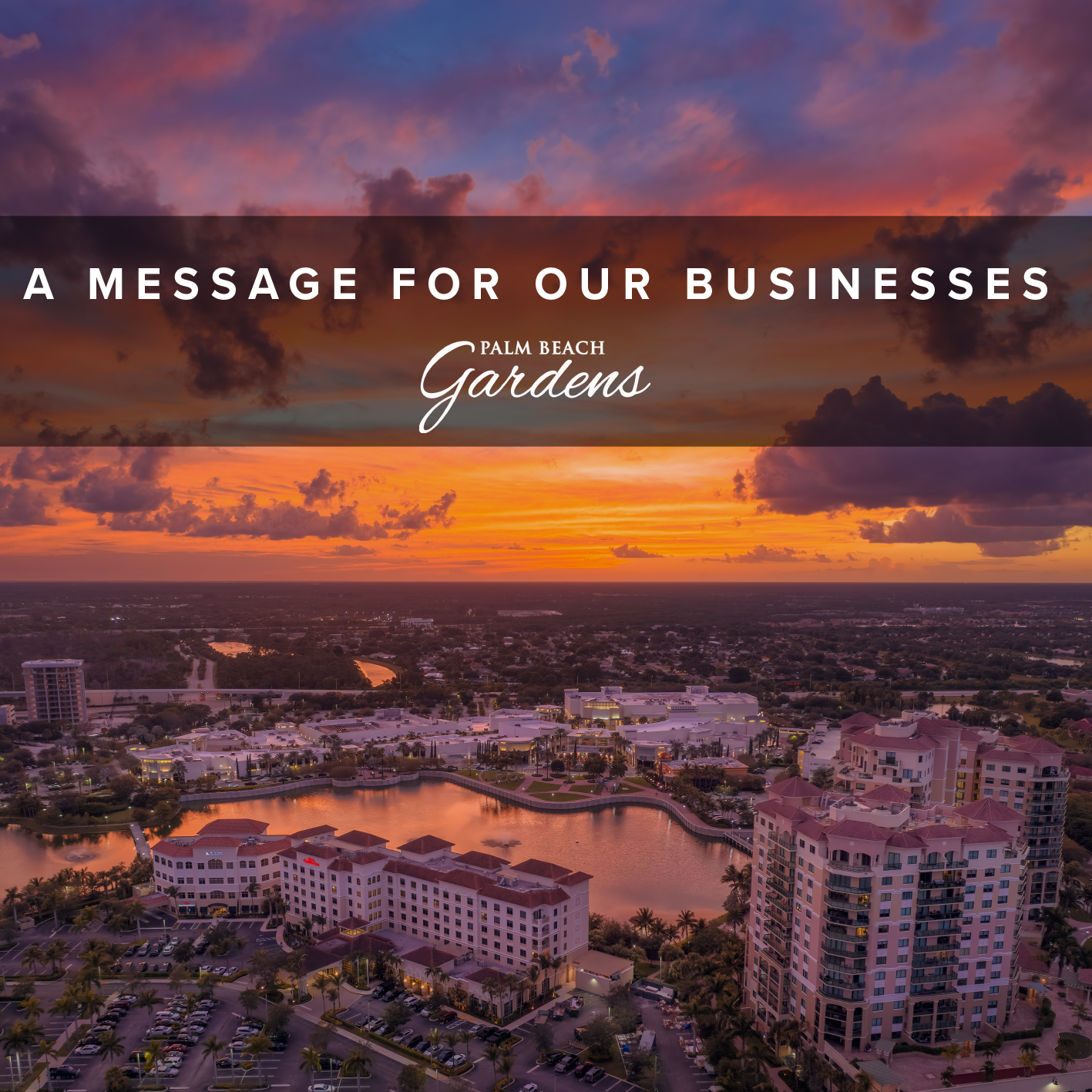 A Message For Our Businesses