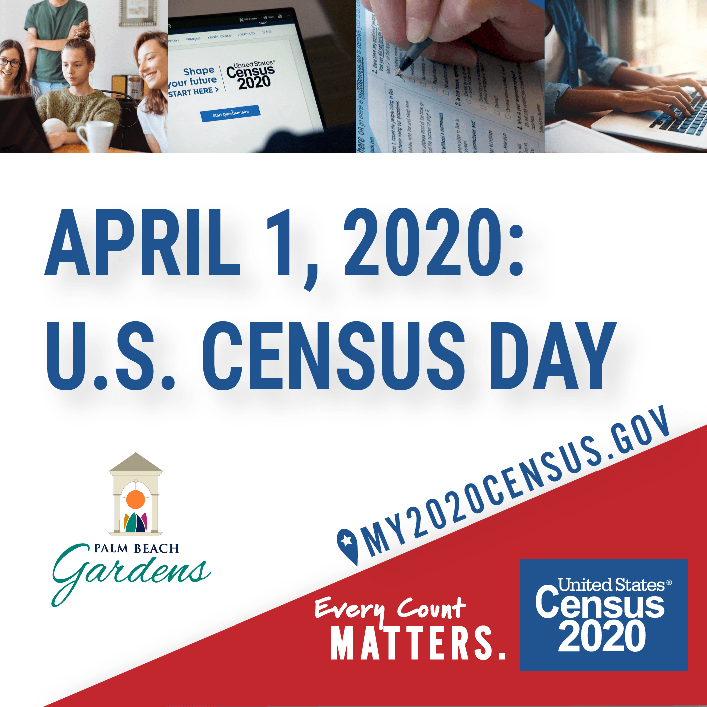 Census Day April 1