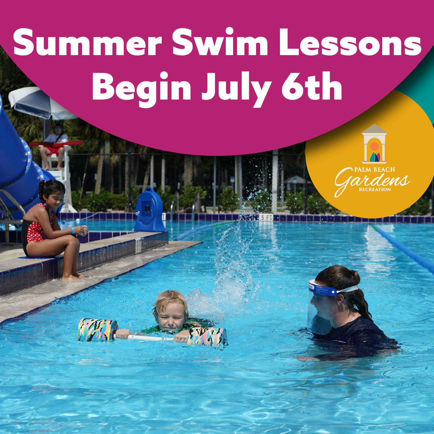 Summer Swim Lessons Begin July 6th!