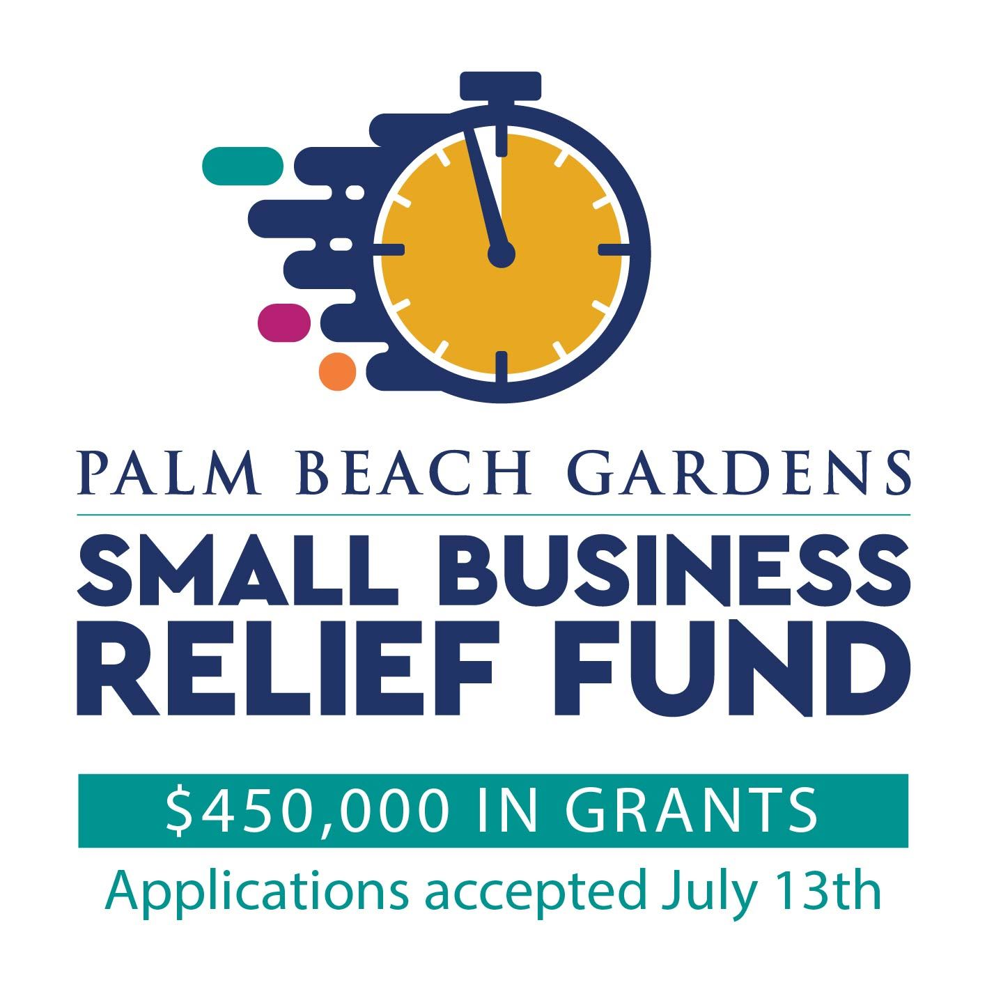 Small Business Relief Fund applications accepted July 13th.