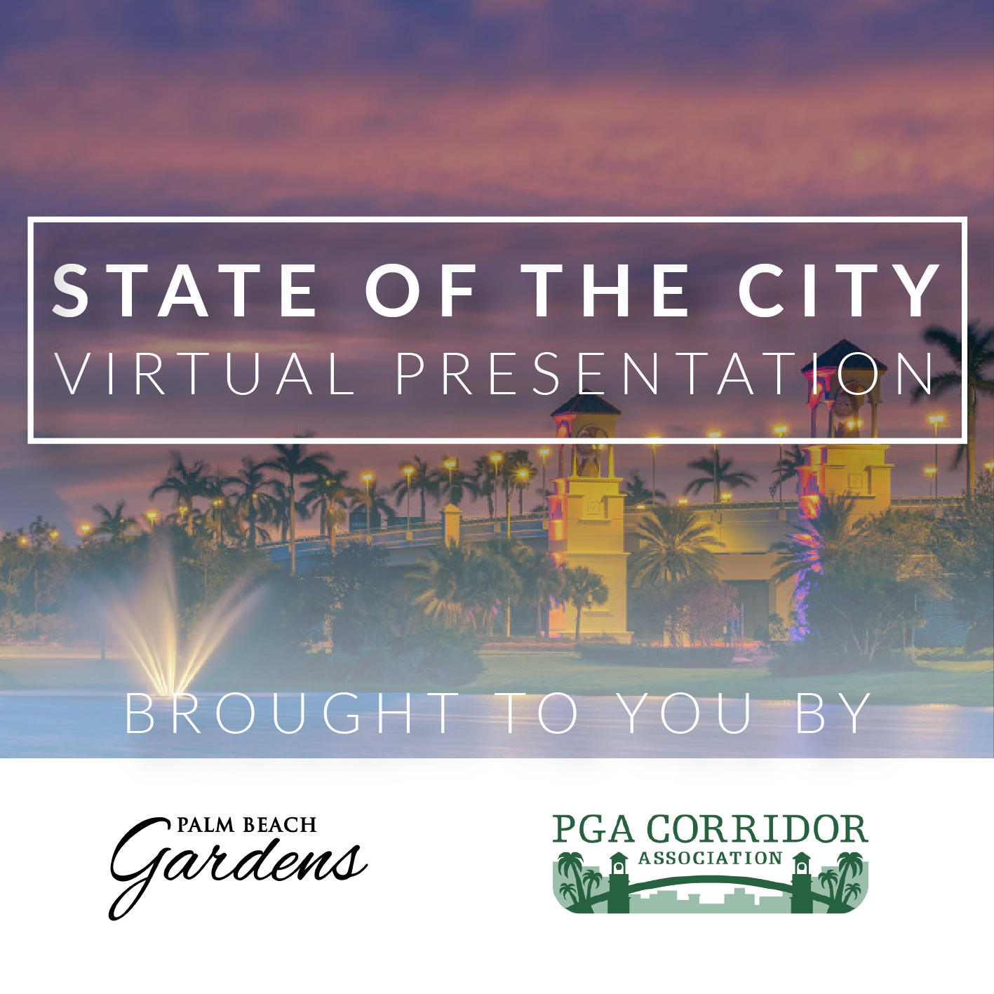 State of the City video link.