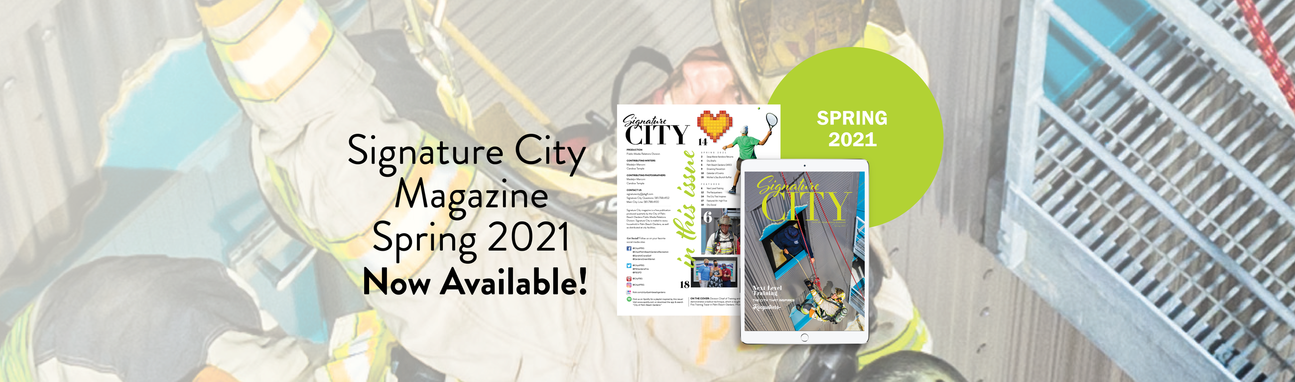 Signature City Spring 2021 issue.