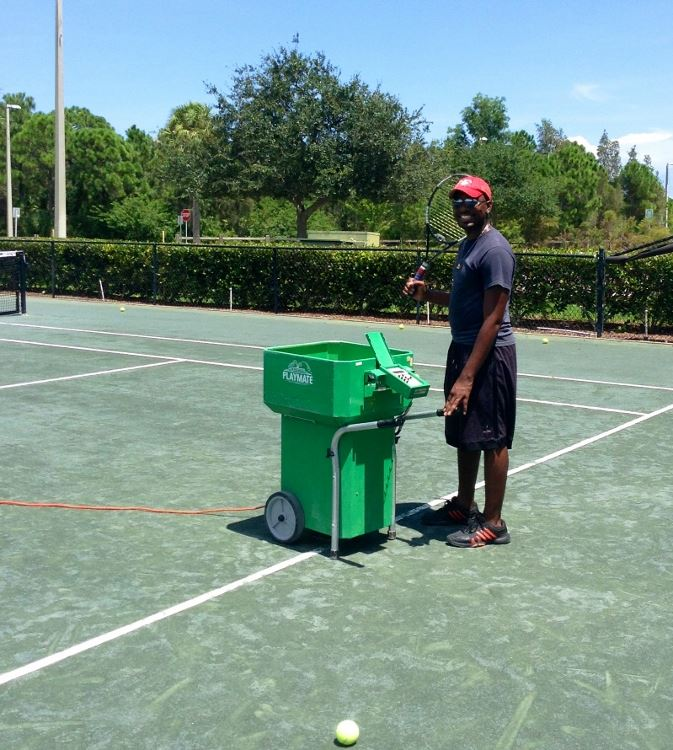 tennis machine rental