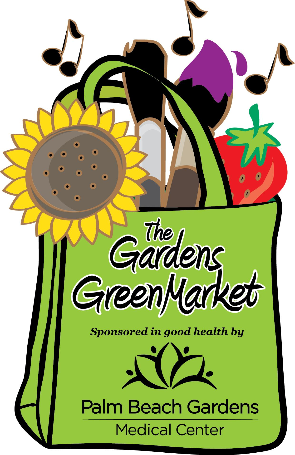 The Gardens GreenMarket Logo