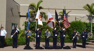 The Honor Guard at Memorial Day 2015