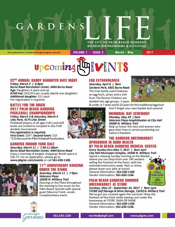 Gardens Life March-May 2017)
