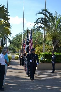 Palm Beach Gardens Police and Fire Honor Guard