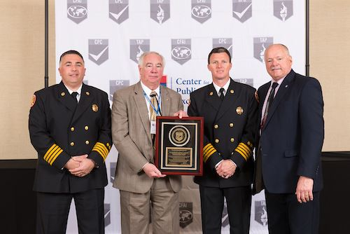 2017 CFAI Accreditation Award Plaque Acceptance.