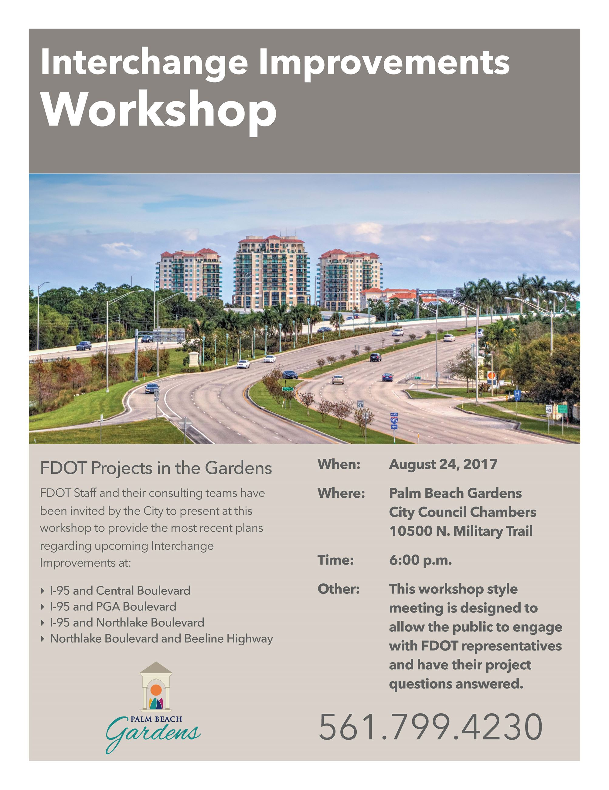 FDOT Workshop Flyer