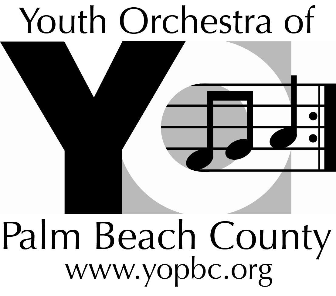 Youth Orchestra of Palm Beach County logo