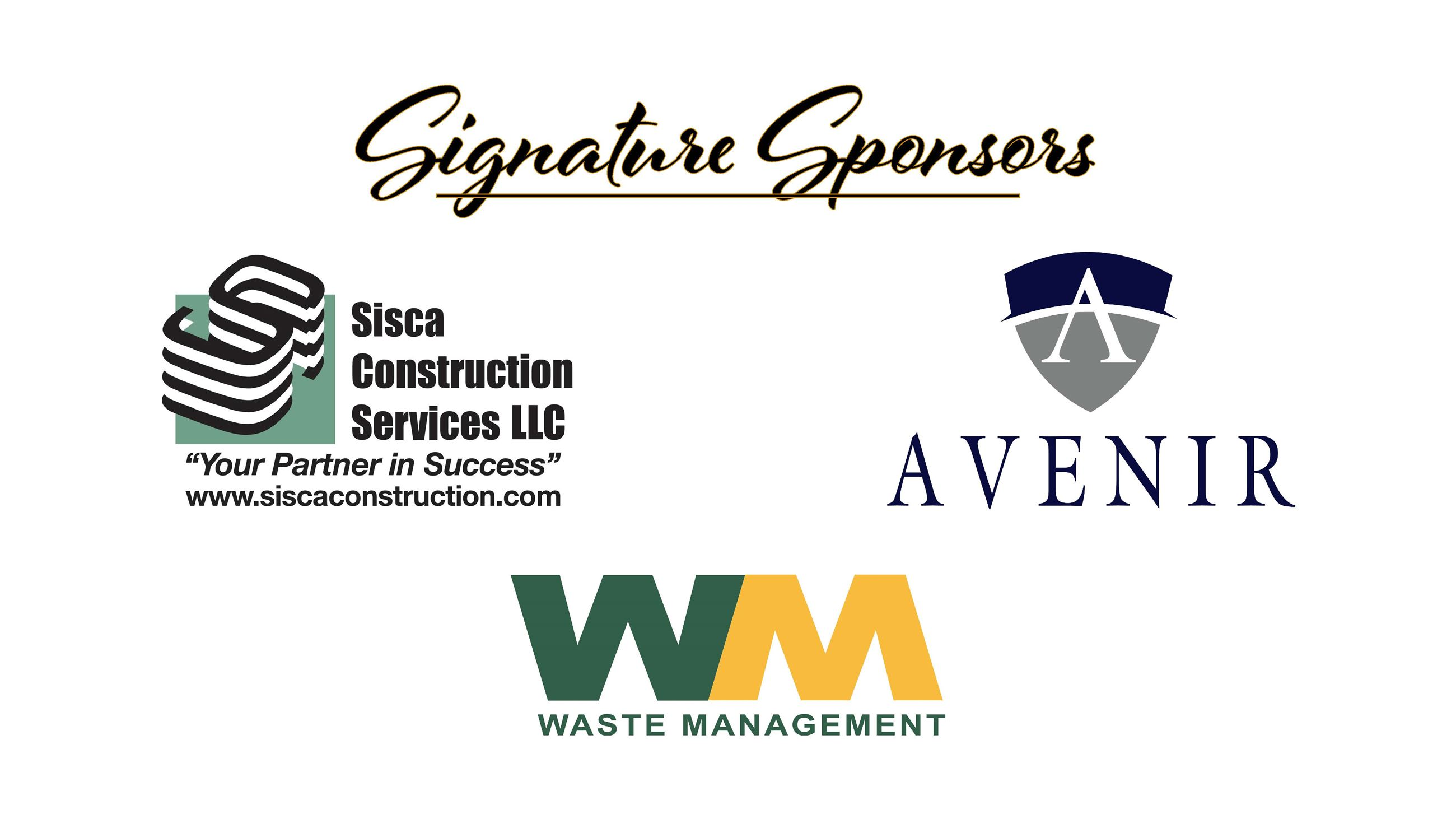 Open House Signature Sponsors