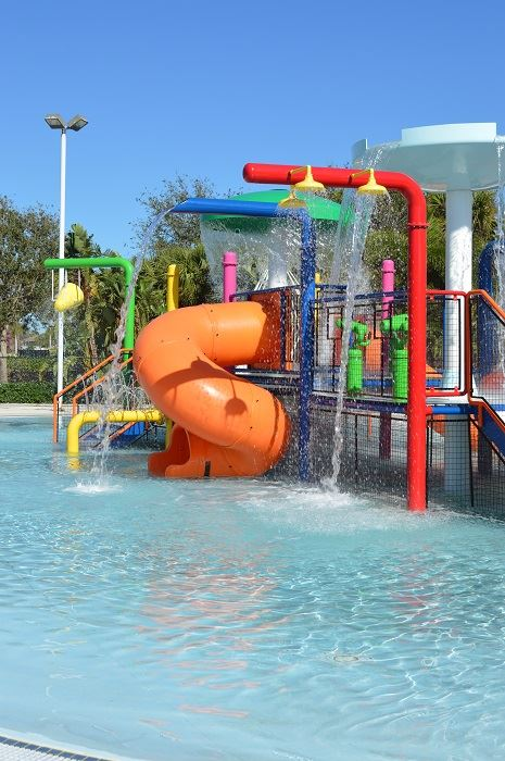 The Splash Playground at the PBG Aquatic Complex